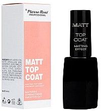 Parfumuri și produse cosmetice Fixator mat pentru unghii - Pierre Rene Matt Top Coat Matting Effect