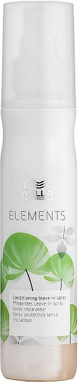 Spray hidratant care nu necesită clătire - Wella Professionals Elements Conditioning Leave-in Spray