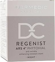 Parfumuri și produse cosmetice Cremă de noapte împotriva ridurilor 40+ - Dermedic Regenist ARS 4 Phytohial Night Anti-Wrinkle Enhancing Renewal Cream