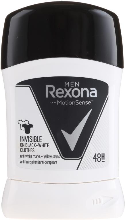 Deodorant Stick Invizibil - Rexona Men Deodorant Stick — Imagine N1
