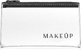 """Parfumuri și produse cosmetice Trusă cosmetică incoloră Flat Glow"""" 20x10 cm - MakeUp"""