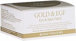 Parfumuri și produse cosmetice Patch-uri hydrogel sub ochi cu aur - Petitfee & Koelf Gold&EGF Eye&Spot Patch