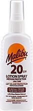 Parfumuri și produse cosmetice Loțiune-spray de corp - Malibu Lotion Spray SPF20