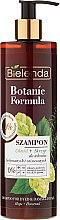 """Parfumuri și produse cosmetice Șampon pentru părul vopsit """"Hamei și coada-calului"""" - Bielenda Botanic Formula Horsetail & Hops Shampoo"""