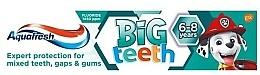 "Parfumuri și produse cosmetice Pastă de dinți ""My Big Teeth"" - Aquafresh PAW Patrol"