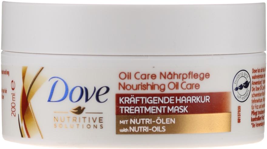 """Mască pentru păr uscat """"Îngrijire nutritivă"""" - Dove Nutritive Solutions — Imagine N1"""