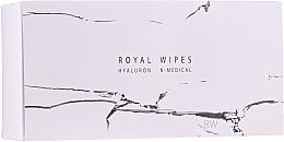Parfumuri și produse cosmetice Șervețele hidratante și îngrijitoare pentru față - N-Medical Hyaluron Royal Wipes