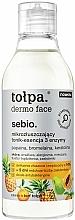 Parfumuri și produse cosmetice Esență micro-exfoliantă pentru față - Tolpa Dermo Face Essence-Tonic
