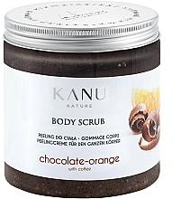 """Parfumuri și produse cosmetice Scrub pentru corp """"Ciocolată și Portocală"""" - Kanu NatureBody Scrub"""