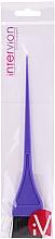 Parfumuri și produse cosmetice Pensulă pentru vopsit părul, 499971, mov - Inter-Vion