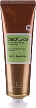 """Parfumuri și produse cosmetice Cremă pentru mâini și corp """"Ceai verde"""" - Voesh Velvet Luxe Vegan Body & Hand Cream Green Tea Supple"""
