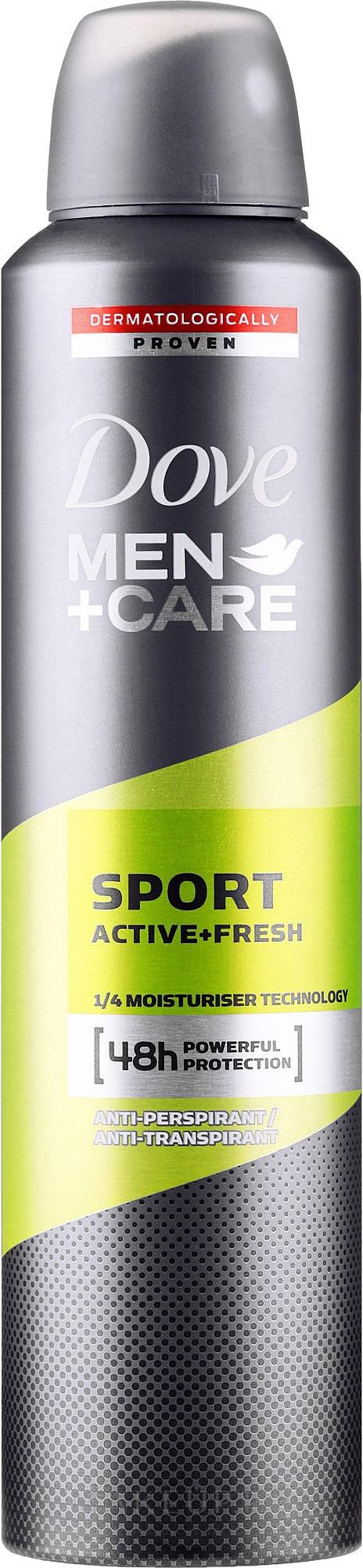 Antiperspirant pentru bărbați - Dove Men+Care Sport Active Fresh — Imagine 250 ml