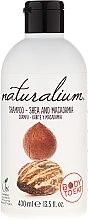 "Parfumuri și produse cosmetice Șampon- balsam de păr ""Shea și Makadamia"" - Naturalium Shea & Macadamia Shampoo"