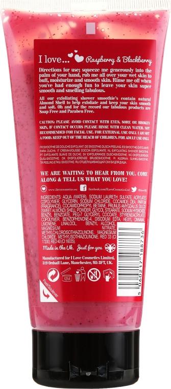 Scrub de corp - I Love Raspberry & Blackberry Exfoliating Shower Smoothie — Imagine N2
