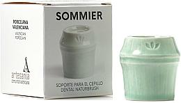 Parfumuri și produse cosmetice Suport periuță de dinți, verde - NaturBrush Sommier Toothbrush Holder