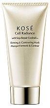 Parfumuri și produse cosmetice Mască regenerantă pentru față - KOSE Soja Repair Cocktail Cell Radiance Firming And Contouring Mask
