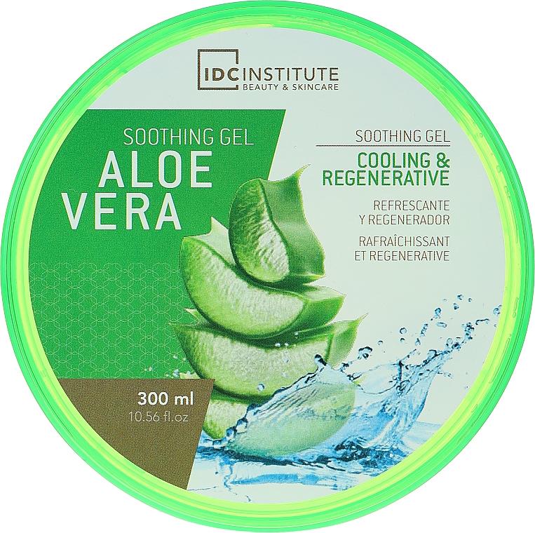 """Gel de duș """"Aloe"""" - IDC Institute Aloe Vera 99% Soothing Gel — Imagine N1"""