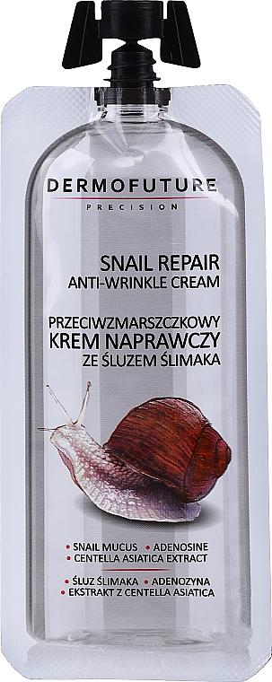 Cremă antirid cu mucus de melc - Dermofuture Snail Repair Anti-Wrinkle Cream
