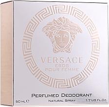 Parfumuri și produse cosmetice Versace Eros Pour Femme - Deodorant
