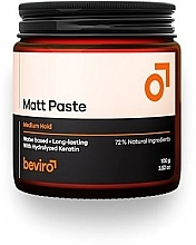 Parfumuri și produse cosmetice Pastă de păr - Beviro Matt Paste Medium Hold