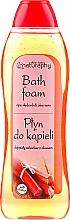 """Parfumuri și produse cosmetice Spumă de baie """"Rubarbă"""" - Bluxcosmetics Naturaphy Bath Foam"""
