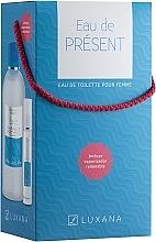 Parfumuri și produse cosmetice Luxana Eau De Present - Set (edt/1000ml + edt/50ml)