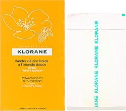 Parfumuri și produse cosmetice Benzi depilatoare pentru picioare - Klorane Cold Wax Strips