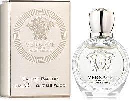 Parfumuri și produse cosmetice Versace Eros Pour Femme - Apă de parfum (mini)