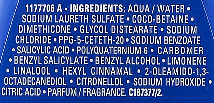 Șampon pentru păr fragil și deteriorat - L'Oreal Professionnel Pro Fiber Re-Create Shampoo — Imagine N3