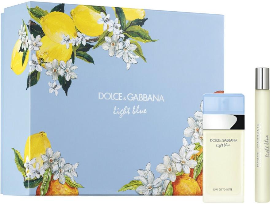 Dolce & Gabbana Light Blue - Set (edt/25 + edt/10) — Imagine N1