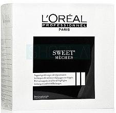 Parfumuri și produse cosmetice Hârtie ecologică pentru decolorarea părului, 50m - L'oreal Professionnel Sweet Meches