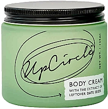 Parfumuri și produse cosmetice Cremă cu semințe de curmale pentru corp - UpCircle Body Cream With Date