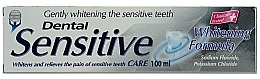 """Parfumuri și produse cosmetice Pastă de dinți """"Gentle whitening"""" - Dental Sensitive Whitening Formula"""