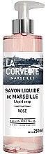 """Parfumuri și produse cosmetice Săpun lichid """"Trandafir"""" - La Corvette Rose Liquid Soap"""