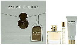 Parfumuri și produse cosmetice Ralph Lauren Woman By Ralph Lauren - Set (edp/50ml+edp/10ml+b/lot/75ml)