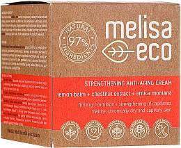 Parfumuri și produse cosmetice Cremă antirid cu efect de întărire pentru față - Melisa Eco