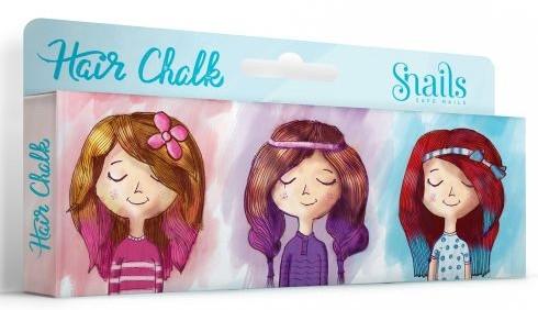 Elastice colorate pentru păr - Snails Hair Chalk — Imagine N1