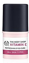 """Parfumuri și produse cosmetice Stick hidratant pentru pielea din jurul ochilor """"Vitamina E"""" - The Body Shop Vitamin E Eyes Cube Refreshing"""