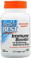Parfumuri și produse cosmetice Supliment pentru întărirea sistemului imunitar cu echinacee, soc și zinc, capsule - Doctor's Best