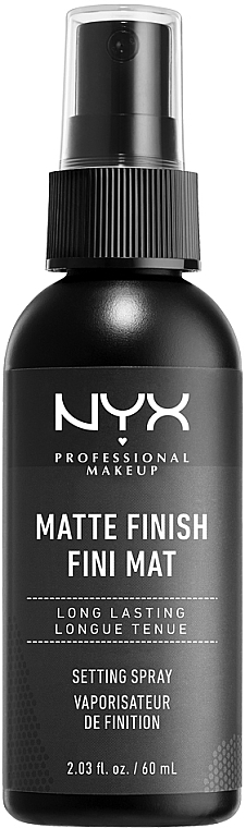 Fixator mat pentru machiaj - NYX Professional Makeup Matte Finish Long Lasting Setting Spray