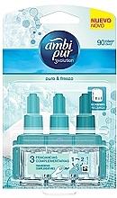 "Parfumuri și produse cosmetice Set ""Bumbac"" - Ambi Pur (refill/3x7ml)"