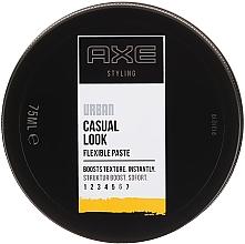 Parfumuri și produse cosmetice Pastă de păr - Axe Urban Casual Look Flexible Paste