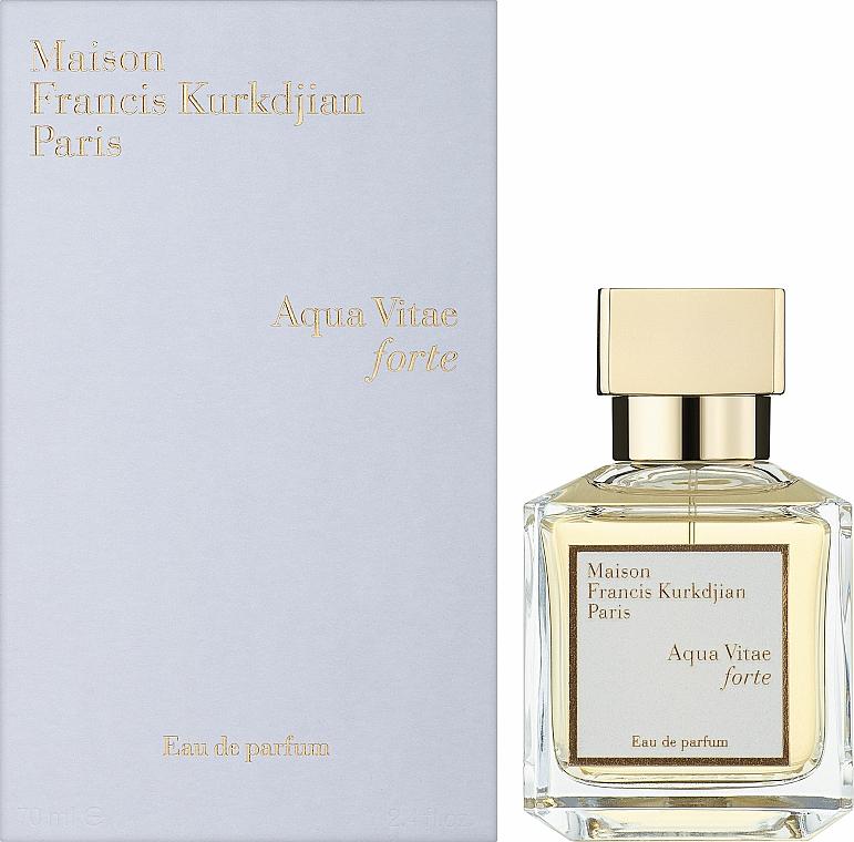 Maison Francis Kurkdjian Aqua Vitae Forte - Apă de parfum — Imagine N2