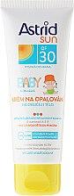 Parfumuri și produse cosmetice Cremă de protecție solară pentru copii - Astrid Sun Baby Cream SPF 30