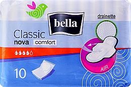 Parfumuri și produse cosmetice Absorbante Classic Nova Comfort Drainette, 10buc - Bella