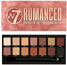 Parfumuri și produse cosmetice Paletă farduri de ochi - W7 Romanced Eyeshadow Palette