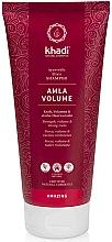 """Parfumuri și produse cosmetice Șampon """"Amla"""" - Khadi Shampoo Amla Volume"""
