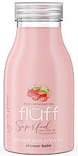 """Parfumuri și produse cosmetice Balsam hidratant de duș """"Căpșuni și migdale"""" - Fluff Shower Balm"""