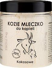 """Parfumuri și produse cosmetice Lapte de baie pe bază de lapte de capră """"Cocos"""" - E-Fiore Coconut Bath Milk"""