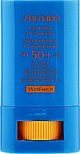 Cremă de față și corp - Shiseido Clear Stick UV Protector SPF 50+ — Imagine N2